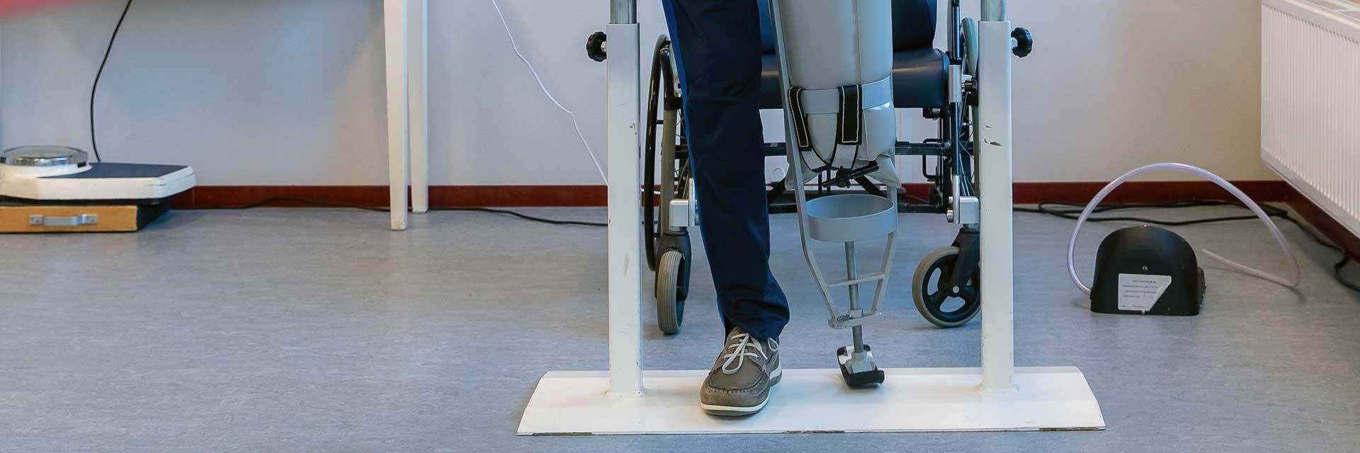 Opnieuw leren lopen tijdens uw revalidatie bij beenamputatie